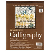 "Strathmore 400 Series Calligraphy Paper Pad - 8 1/2"" x 11"""